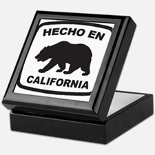 Cute Made in california Keepsake Box