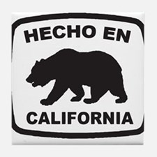 Cute Made in california Tile Coaster
