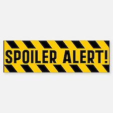 Spoiler Alert Bumper Bumper Sticker