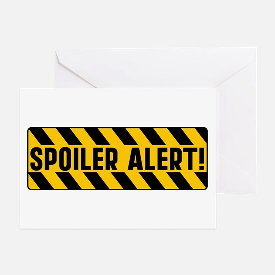 Spoiler Alert Greeting Card