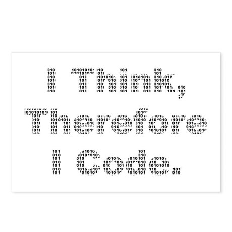 """""""Think --> Code"""" Postcards (Package of 8)"""