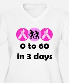 0 to 60 in 3 days T-Shirt
