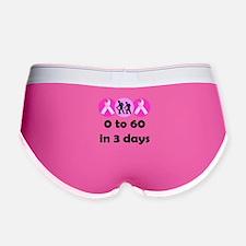 0 to 60 in 3 days Women's Boy Brief