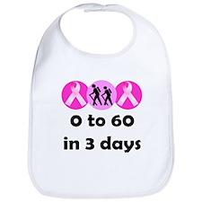 0 to 60 in 3 days Bib