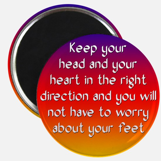The Right Direction Magnet