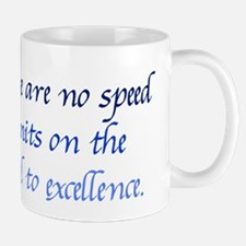 Road to Excellence Mug