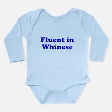 Baby Shirt Gift Fluent In Whi Long Sleeve Infant B