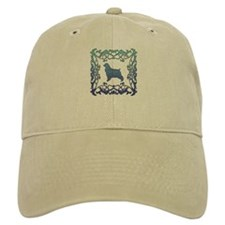 Cocker Spaniel Lattice Baseball Cap