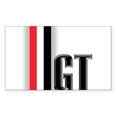 GTBLACK Sticker (Rectangle)