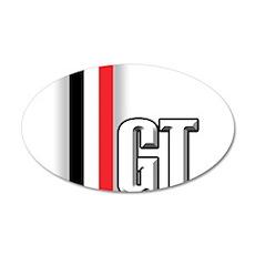 Mustang GTrwb 22x14 Oval Wall Peel