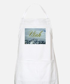 Utah Mountains BBQ Apron