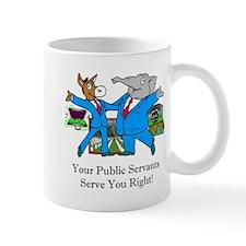 Public Servants Gifts Mug