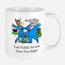 Public Servants Gifts Mug