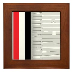 Original Automobile RWB Framed Tile
