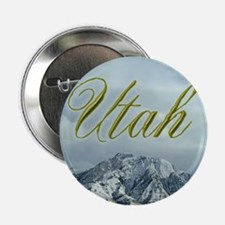 "Utah Mountains 2.25"" Button (10 pack)"