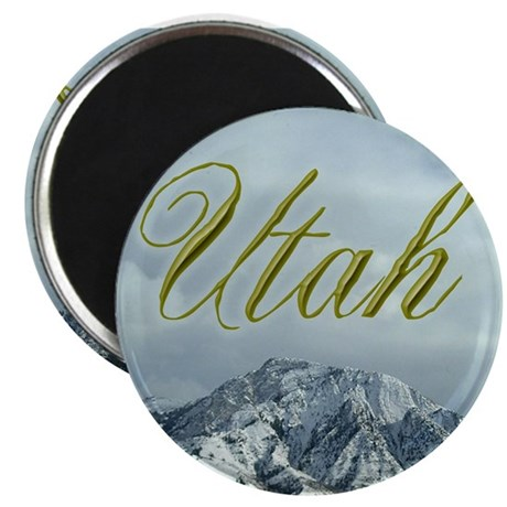 Utah Mountains Magnet