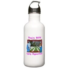 Lying Hypocrites Gifts Water Bottle