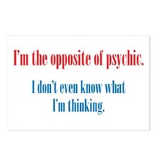 Opposite of Psychic Postcards (Package of 8)