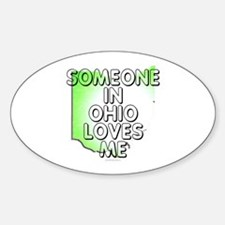 Someone in Ohio Decal