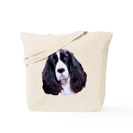Springer Spaniel Portrait Tote Bag