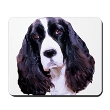 Springer Spaniel Portrait Mousepad