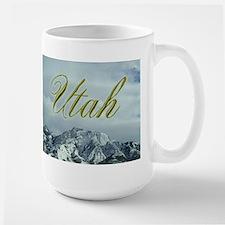 Utah Mountains Large Mug