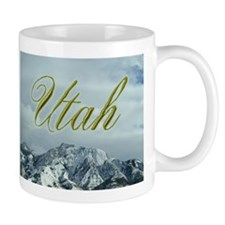 Utah Mountains Small Mug