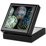 Pysanky Group, Blues Keepsake Box