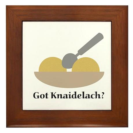 Got Knaidelach? Framed Tile