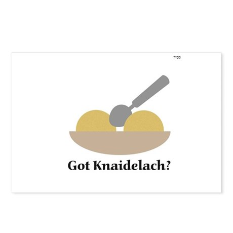 Got Knaidelach? Postcards (Package of 8)