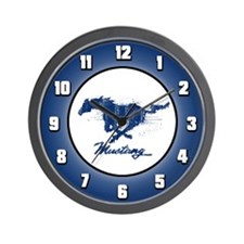 Mustang - Grunge Wall Clock