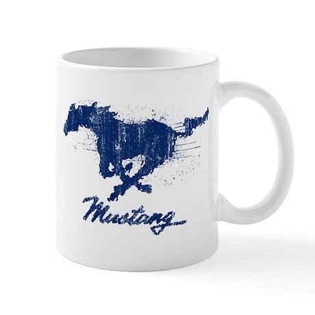 Mustang - Grunge Mug