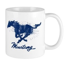 Mustang - Grunge Small Mug