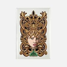 Celtic Goddess Rectangle Magnet