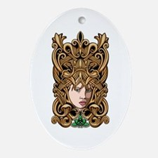 Celtic Goddess Ornament (Oval)