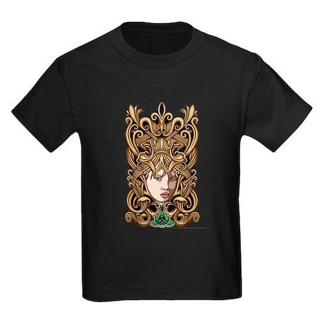 Celtic Goddess Kids Dark T-Shirt