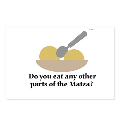 Matza Balls anyone? Postcards (Package of 8)