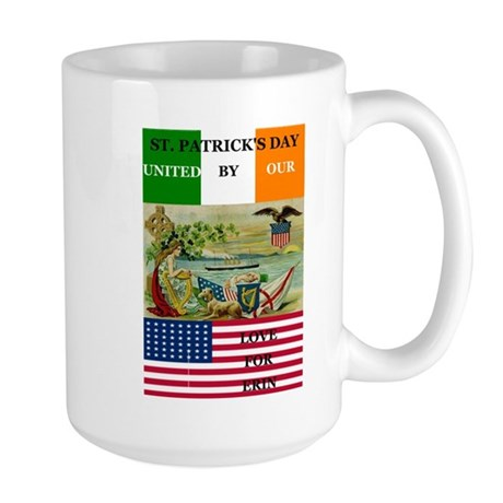 United By Our Love For Erin Large Mug