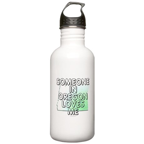Someone in Oregon Stainless Water Bottle 1.0L