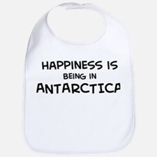 Happiness is Antarctica Bib