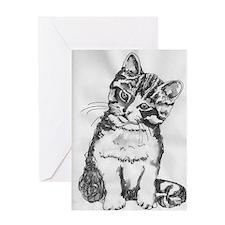 Cuddly Kitten Greeting Card