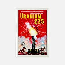 Uranium 235 Rectangle Magnet