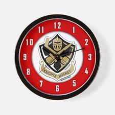 CA Knights Hockey Wall Clock