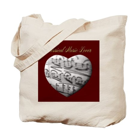 Classical Music Lover Tote Bag