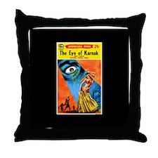 Eye of Karnak Throw Pillow