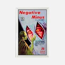 Negative Minus Rectangle Magnet