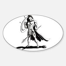 Spartan Sticker (Oval)