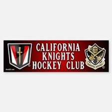 CA Knights Hockey Sticker (Bumper)