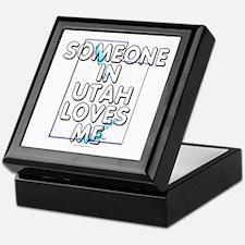 Someone in Utah Keepsake Box