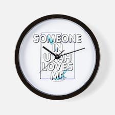 Someone in Utah Wall Clock